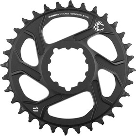 SRAM X-Sync 2 Corona dentata Direct Mount Alluminio 12 Velocità 6mm, black